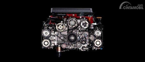Gambar menunjukkan Mesin EJ20 Subaru WRX STI EJ20 Final Edition 2019