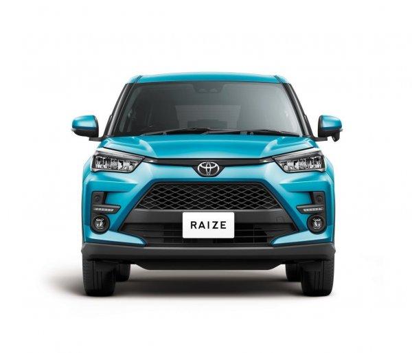 Gambar tampilan depan Toyota Raize 2021