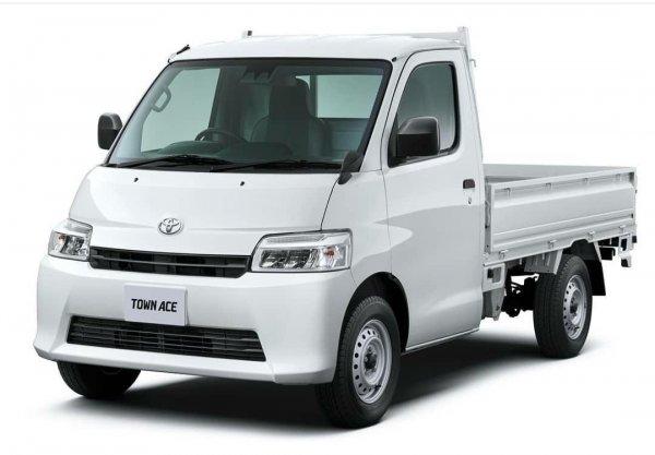 Gambar Toyota Town Ace atau Daihatsu Gran Max Facelift