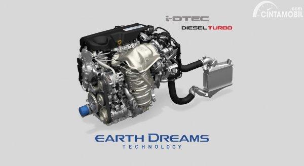 Gambar Honda N16 i-DTEC engine