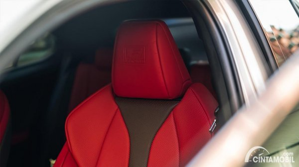 Gambar kursi Lexus UX 200 F SPORT AT 2020