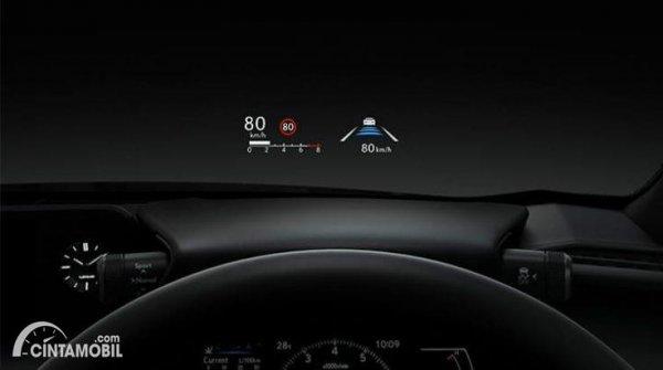 Gambar Head Up Display Lexus UX 200 F SPORT AT 2020