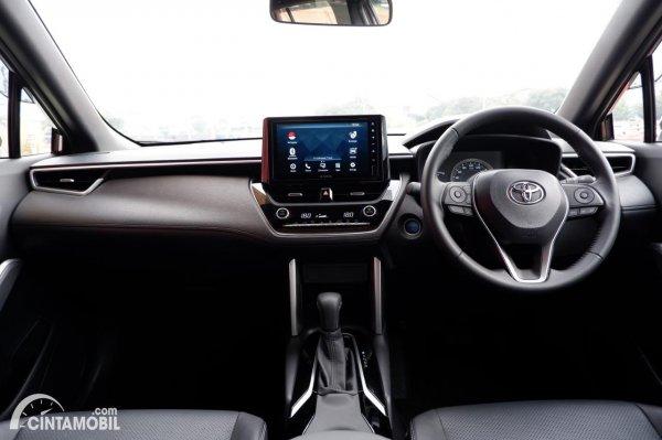 Foto layout dashboard Toyota Corolla Cross Hybrid AT 2020