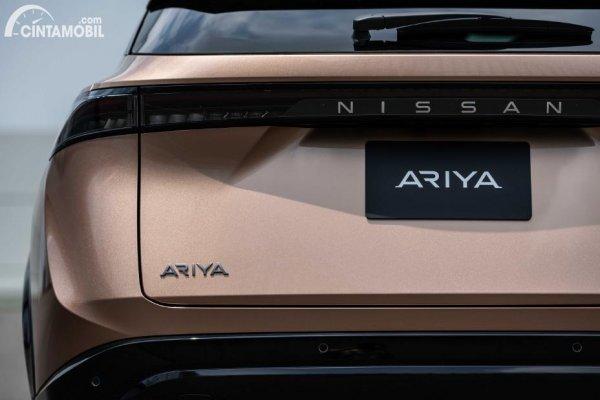Bagian belakang Nissan Ariya