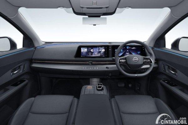 Desain dasbor Nissan Ariya