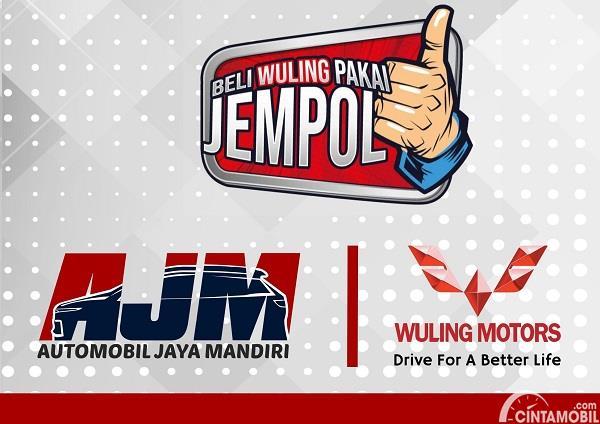 Gambar logo main dealer Wuling AJM Jawa Tengah dan DI Yogyakarta