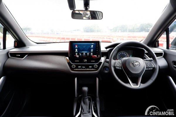 Foto layout dashboard Toyota Corolla Cross Hybrid 1.8 AT 2020