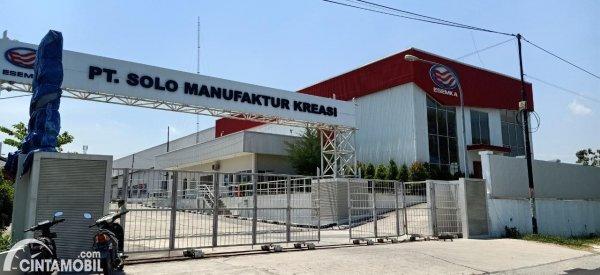 Gambar pabrik dan dealer Esemka di Boyolali, Jawa Tengah