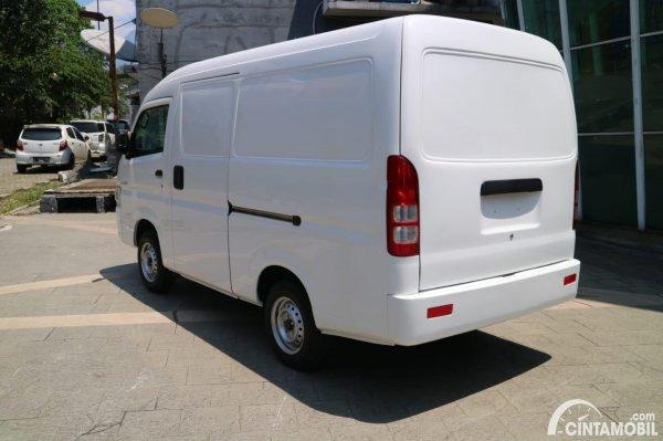 Gambar tampilan belakang Suzuki New Carry Blind Van 2020