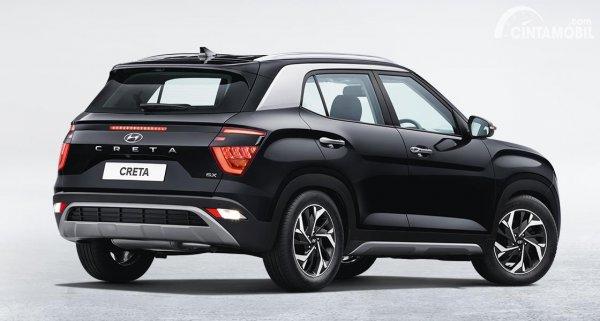 Gambar tampilan belakang Hyundai Creta