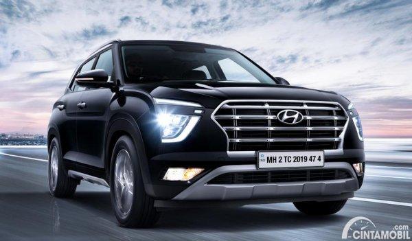 Gambar tampilan depan Hyundai Creta