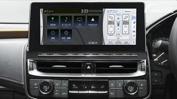 Gambar In-Car Entertaiment System Toyota Crown 2021