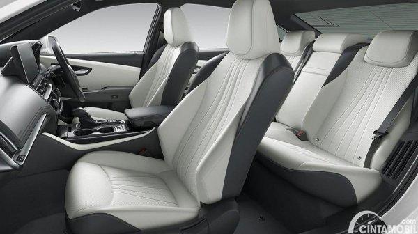 Gambar layout kursi Toyota Crown 2021