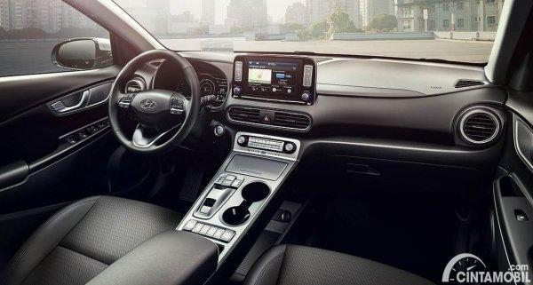 Gambar layout dashboard Hyundai KONA Electric 2020