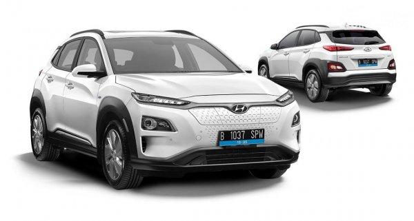 Gambar Hyundai KONA EV