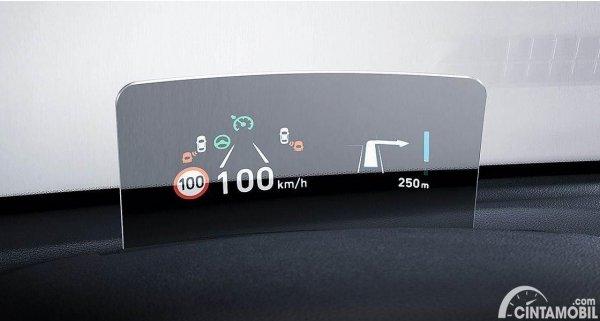 Gambar Head Up Display Hyundai KONA Electric 2020