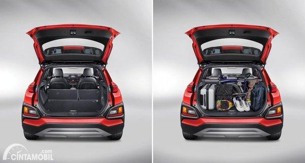 Gambar Bagasi Hyundai KONA dan KONA Electric 2020