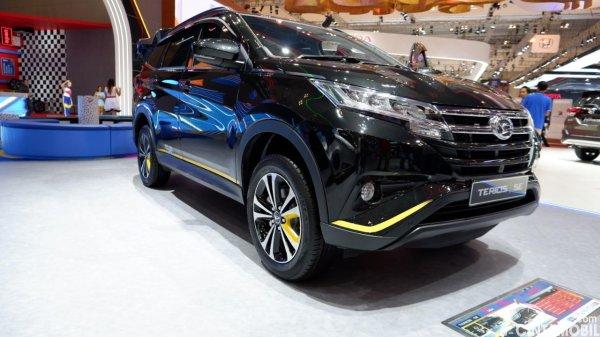 Foto tampilan depan Daihatsu Terios SE AT 2019