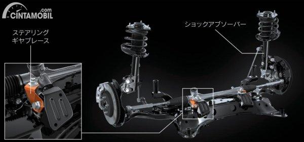 Gambar Lexus Performance Damper Suspension di Lexus UX 300e 2020