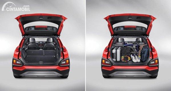 Gambar bagasi Hyundai KONA Facelift 2020