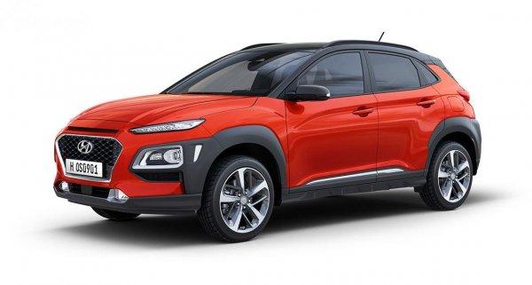 Foto tampilan samping Hyundai KONA Facelift 2020