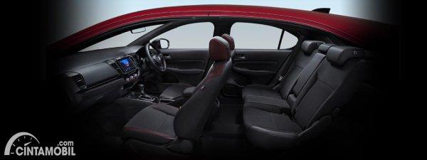 Gambar kursi Honda City Hatchback