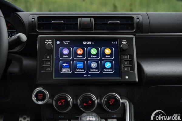 Head unit yang dipakai Subaru BRZ 2022