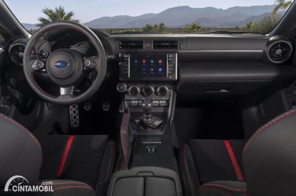 Layout interior Subaru BRZ 2022
