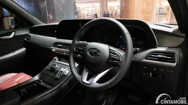 Foto layout dashboard Hyundai Palisade Signature 2020