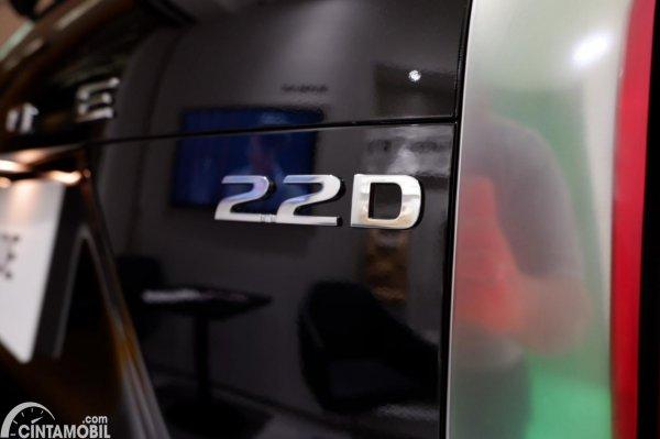 Foto emblem 22D di Hyundai Palisade Signature 2020