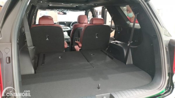 Foto bagasi Hyundai Palisade Signature 2020