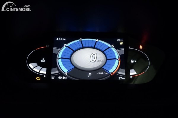 Foto panel instrumen speedometer Nissan Magnite Premium CVT 2020