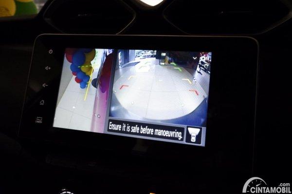 Foto kamera mundur di Nissan Magnite Premium CVT 2020
