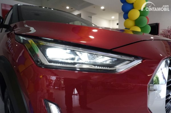 Foto headlamp Nissan Magnite Premium CVT 2020
