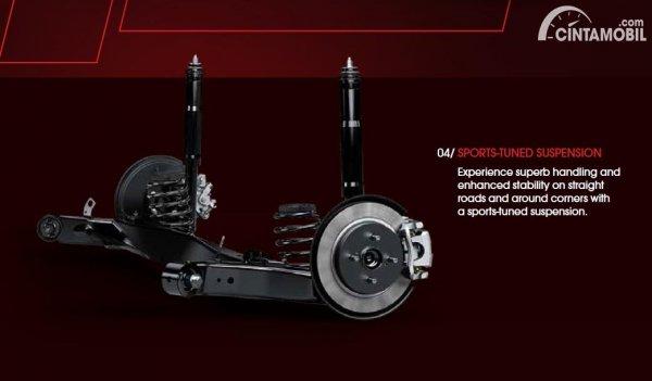 Sport Suspension yang dipakai Toyota Vios GR-S 2021