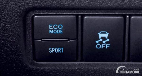Fitur untuk mematikan VSC di Toyota Vios GR-S 2021
