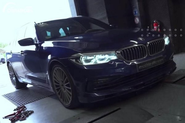 BMW Alpina B5 Biturbo Touring Dyno Test