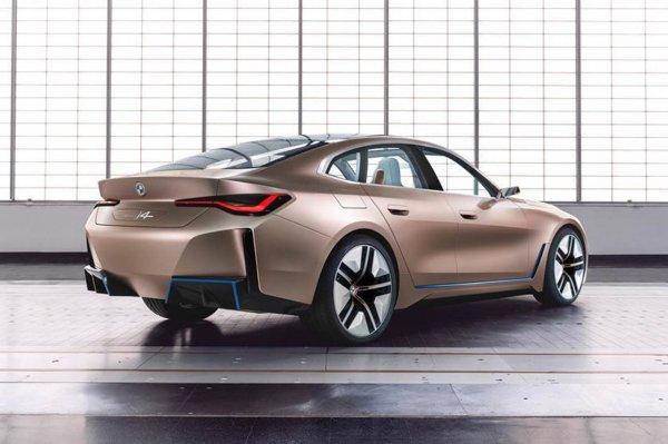 BMW i4 2022 Concept