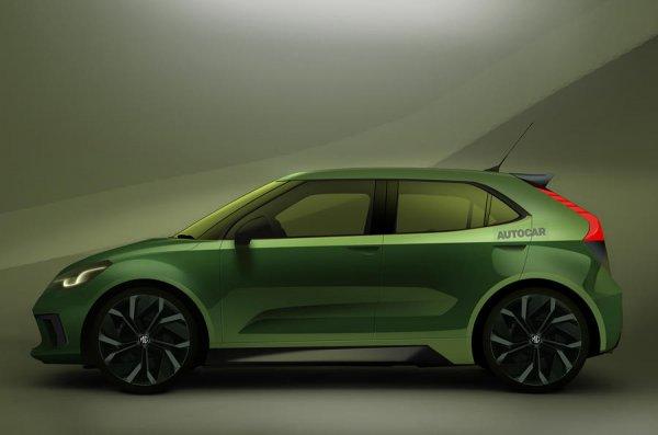 Gambar menunjukan Hatchback EV MG