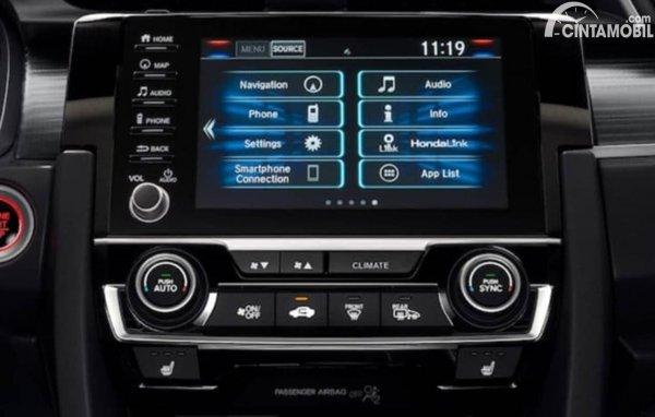 Apple CarPlay Honda Menu