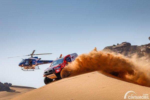 Nasser Al-Attiyah Dakar 2021 Stage 2