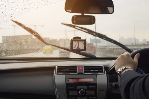 mengemudi cuaca buruk