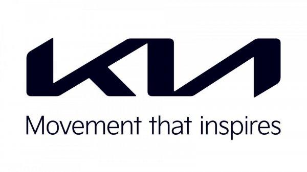 Gambar menunjukan Logo baru kia