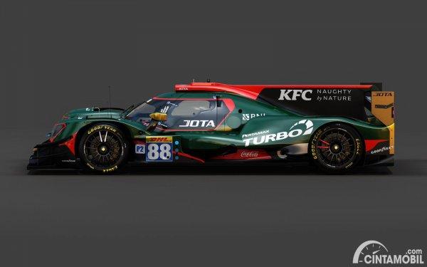 Mobil Jota Sport yang akan digunakan Sean Gelael di musim balap WEC 2021