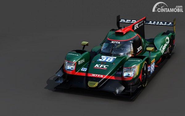 Mobil balap LMP2 milik JOTA Sport yang akan dipakai Sean Gelael musim 2021