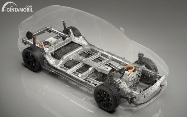 Konsep powertrain Range Extender Mazda dengan mesin Rotary