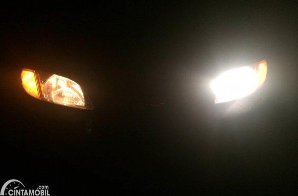 Lampu Mobil Redup