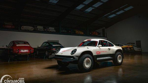 Tampilan depan Porsche 911 ACS