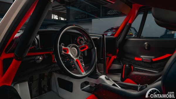 Tampilan interior Porsche 911 ACS
