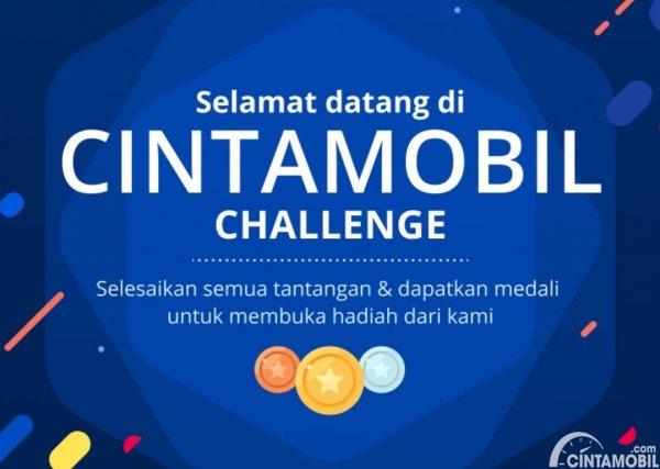 aplikasi mobile Cintamobil berwarna biru